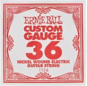 Струны поштучно 36 Ernie Ball 1136 Nickel Wound