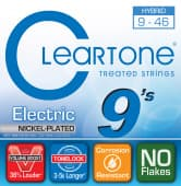 Струны для электрогитары 09-46 Cleartone 9419 Nickel Plated Hybrid