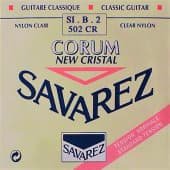 Струны поштучно 33 Savarez 502CR New Cristal Clear Nylon Standard Tension Si-B-2