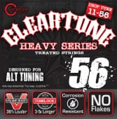 Струны для электрогитары 11-56 Cleartone 9456 Heavy Series Drop Tune