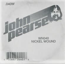 Струны поштучно 40 John Pearse WN040 Nickel Wound String
