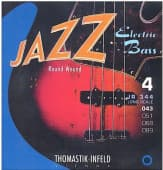 Струны для бас-гитары 43-89 Thomastik-Infeld JR344 Jazz Round Wound