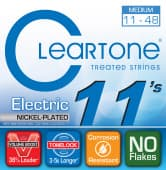 Струны для электрогитары 11-48 Cleartone 9411 Nickel Plated Super Medium