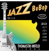 Струны для электрогитары 13-53 Thomastik-Infeld BB113 Jazz BeBop Round Wound