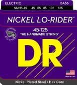 45-125 DR NMH5-45 Lo-Rider Nickel Plated Steel / Hex Core 5-String