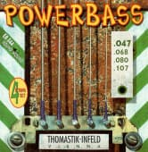 Струны для бас-гитары 47-107 Thomastik-Infeld EB344 Powerbass Round Wound