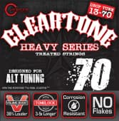 Струны для электрогитары 13-70 Cleartone 9470 Heavy Series Drop Tune