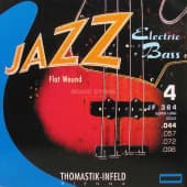 Струны для бас-гитары 44-96 Thomastik-Infeld JF364 Jazz Flat Wound Super Long Scale