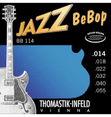 Струны для электрогитары 14-55 Thomastik-Infeld BB114 Jazz BeBop Round Wound