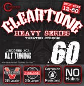 Струны для электрогитары 12-60 Cleartone 9460 Heavy Series Drop Tune