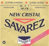 Струны поштучно 29 Savarez 501CR New Cristal Clear Nylon Standard Tension Mi-E-1