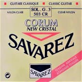 Струны поштучно 41 Savarez 503CR New Cristal Clear Nylon Standard Tension Sol-G-3