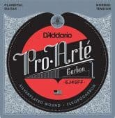 24-44 D'Addario EJ45FF Pro Arte Carbon Silverplated Fluorocarbon Normal Tension