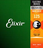 125 Elixir 15425 Nanoweb Coated Super Light B