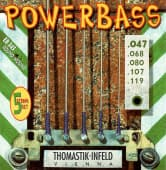 Струны для бас-гитары 47-119 Thomastik-Infeld EB345 Powerbass Round Wound 5-String