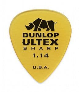 Медиаторы поштучно 1.14 mm Dunlop Ultex Sharp