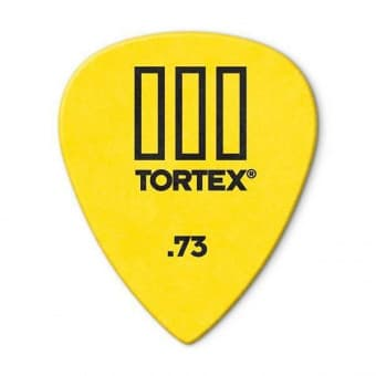 Медиаторы поштучно 0.73 mm Dunlop Tortex III Yellow