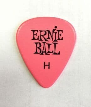 Медиаторы поштучно 0.94 mm Ernie Ball Standard Heavy Pink