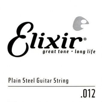 Струны поштучно 12 Elixir 13012 Anti-Rust Plain Steel String