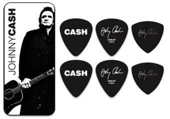 Наборы медиаторов 0.94 mm Dunlop JCPT02H Johnny Cash Legend 6 pcs