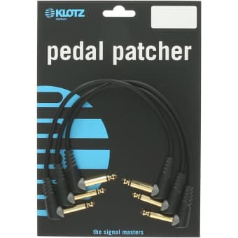 Кабели 0.3m KLOTZ PP-AJJ0030 Pedal Patcher 3-pack