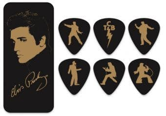 Наборы медиаторов 0.73 mm Dunlop EPPT04 The Elvis Presley Portrait Collection 6 pcs