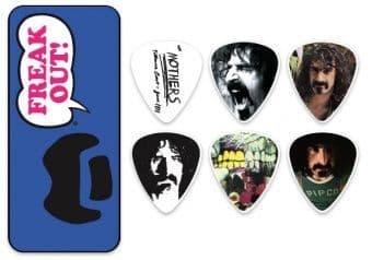 Наборы медиаторов 0.73 mm Dunlop ZAPPT02M Frank Zappa Blue Tin 6 pcs