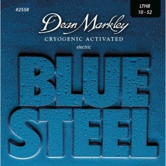 Струны для электрогитары 10-52 Dean Markley Blue Steel 2558 LTHB