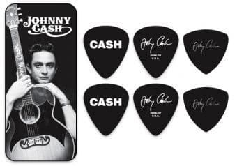 Наборы медиаторов 0.73 mm Dunlop JCPT01M Johnny Cash Memphis 6 pcs