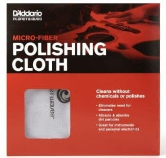 Средства для ухода за декой D'Addario Planet Waves PW-MPC Micro-Fiber Polishing Cloth